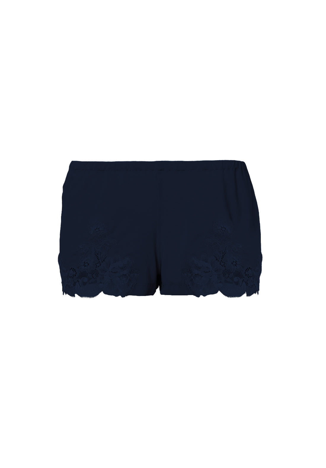 Isolde Shorts in Navy Blue