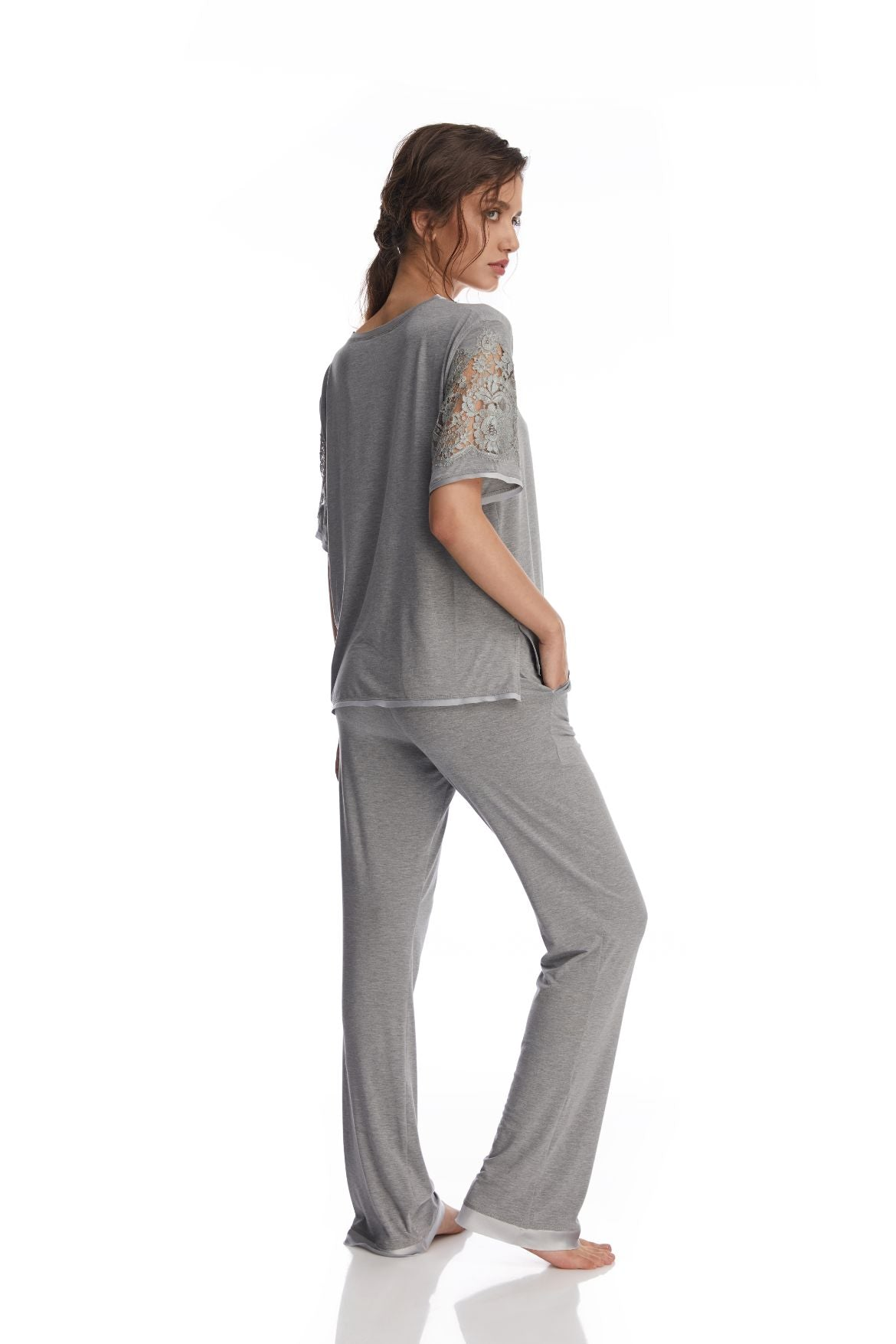 Heavenly Freshness Pants in Glacier Grey