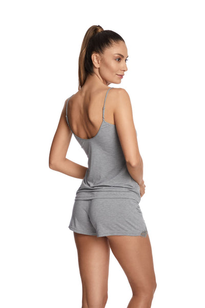 Heavenly Freshness Shorts in Glacier Grey - I.D. Sarrieri