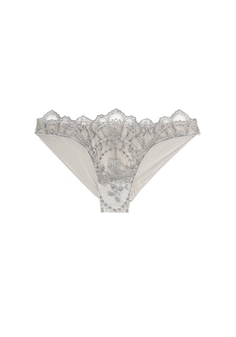 La Naissance d'Aphrodite High Waist Brief in Améthyste Royale