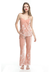 Nuits à Moscou Long Pants in Blush