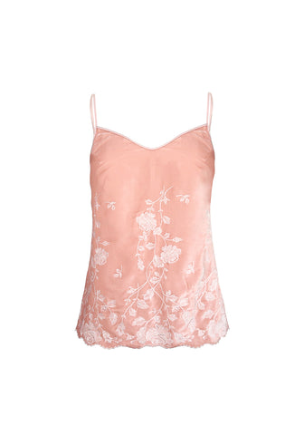 Macaroon Delights Tank Top in Powder Pink