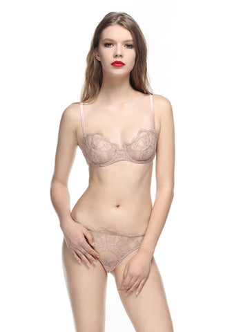 La Naissance d'Aphrodite Low Waist Brief in Pearl Rose