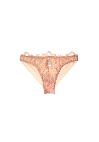 Chimère Lace Brief in Raspberry Pink