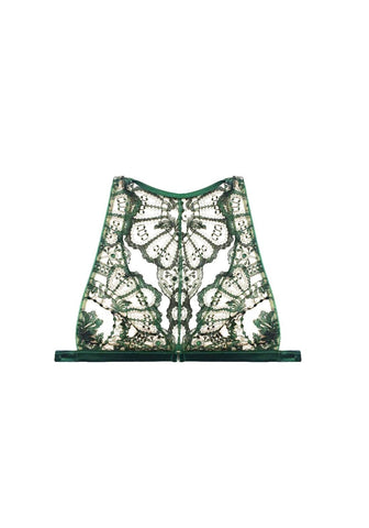 Filigree Lace Camisole in Noire