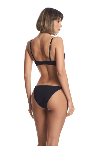 A Starry Night Thong in Black - I.D. Sarrieri