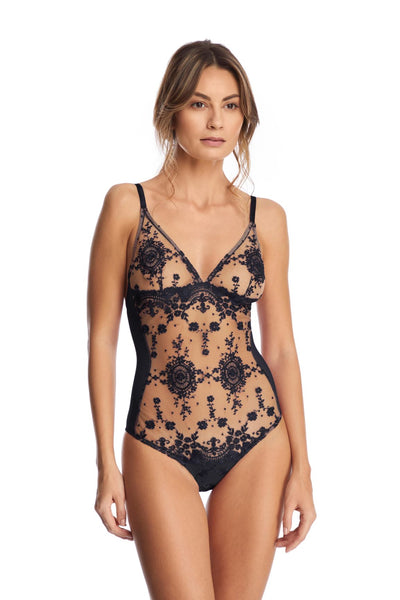 Annabelle Bodysuit in Blue - I.D. Sarrieri