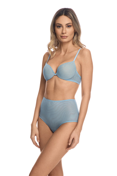 Clair de Lune Padded Push-Up Bra in Sky Blue - I.D. Sarrieri