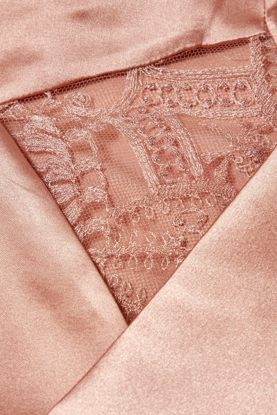 Desert Rose Pyjama Top in Rose Gold - I.D. Sarrieri