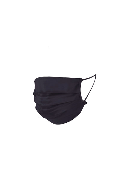 Maria Mask Silk in Navy Blue - I.D. Sarrieri