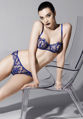 Selene Balconette Bra in Royal Blue
