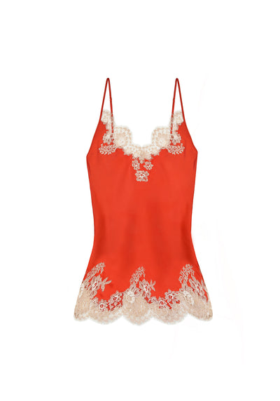 Manhattan Morning Camisole in Orange/Nude - I.D. Sarrieri