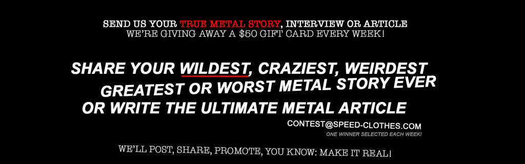 Submit your story: contest@speed-clothes.com