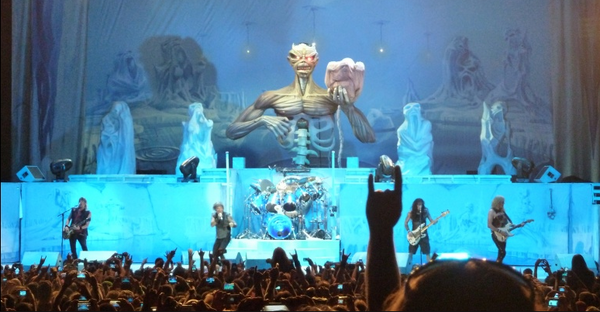 Iron Maiden LIVE in San Bernadino - September, 13th, 2013.