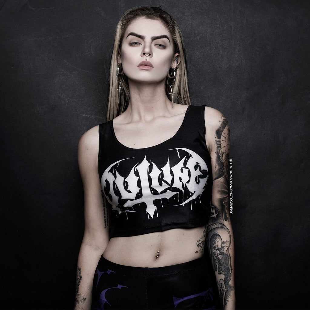 Outline - Speed Metal Out of Line - Crop Top - Speed Clothes