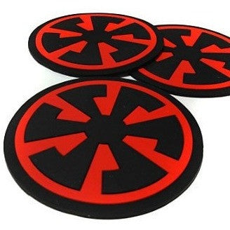 Speed Metal / Banzai - Silicon Coasters (2-pack) - Speed Clothes