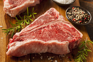 T Bone Steak  18 - 22oz (500 - 620g)