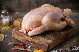 Chicken Free Range Label Anglais