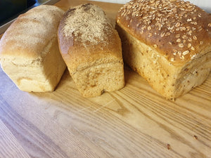 Sliced Artisan Brown Bread