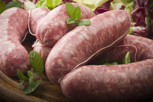 Sausages Plain Thick Pork (6 Per Pack 450 - 500g)