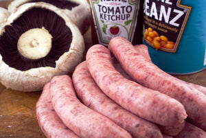 Sausages Plain Pork Thin (450g - 500g)