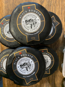 Black bomber cheese