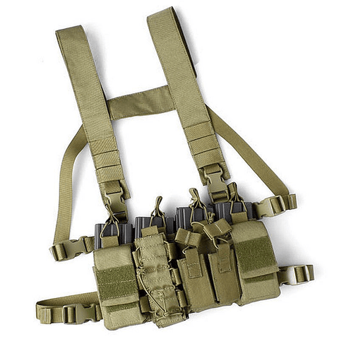 Hostile Environment Chest Rig (KHAKI)