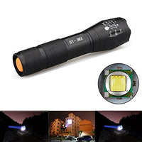 Tactical 3000 Lumens Mini T6 LED Flashlight - KIT