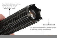 Tactical LED Flashlight + Full Kit