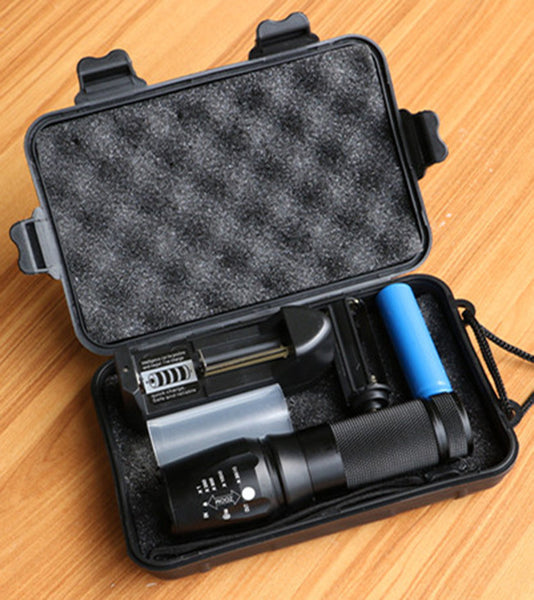 TACT LED Rechargeable Flashlight - FULL KIT $129 Retail