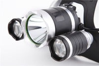 Ultra BRIGHT LED Rechargeable Headlamp