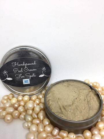 Hand-Ground Pearl Cream For Spots