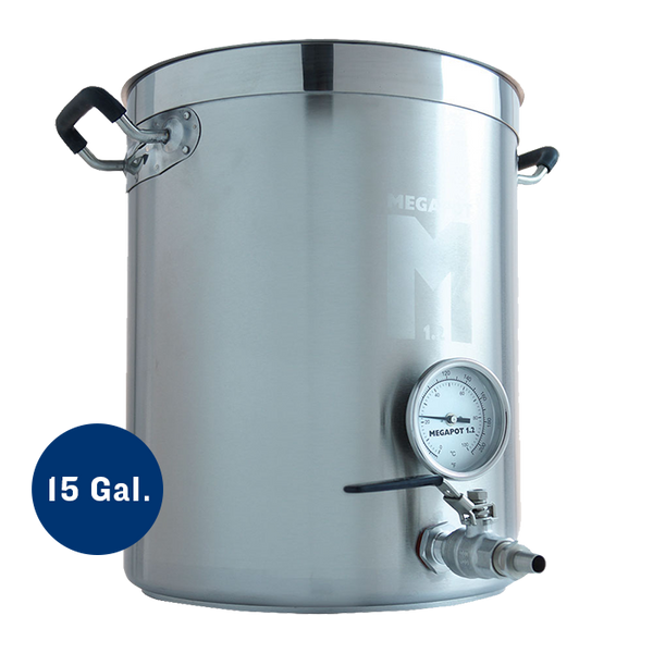 15 Gallon Megapot 1.2 Brew Kettle