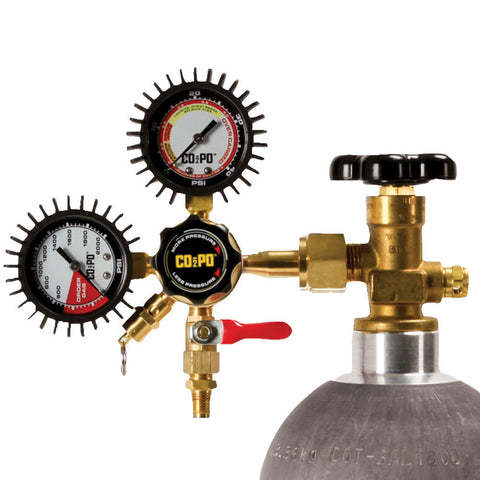 CO2PO Single Body CO2 Regulator