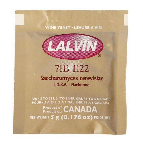 Lalvin 71B-1122 Narbonne White Wine Yeast