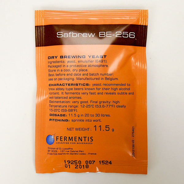 Safbrew BE-256 Dry Belgian Ale Yeast