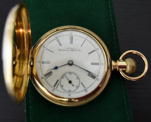 Waltham Watch Company - Hunter Pocket Watch - Boutique Watch Shop