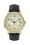 GRAYTON AUTOMATIC, ROSE GOLD, WHITE DIAL & BROWN LEATHER STRAP - Boutique Watch Shop
