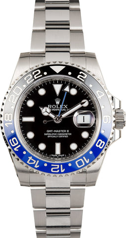 "Rolex GMT II ""BATMAN"" 116710BLNR - Boutique Watch Shop"