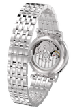 GRAYTON AUTOMATIC, STAINLESS STEEL, WHITE DIAL, BRACELET - Boutique Watch Shop