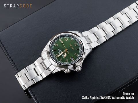 Seiko SARB 017 - Alpinist - Boutique Watch Shop