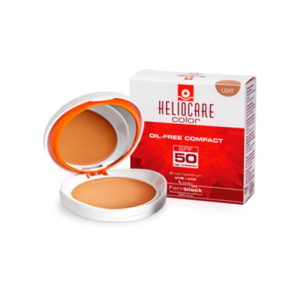 Heliocare Compacto SPF 50 Sin Aceite - Fair/Light/Brown
