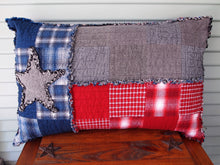 "Texas Flag Flannel Pillow Sham, 20"" x 30"""