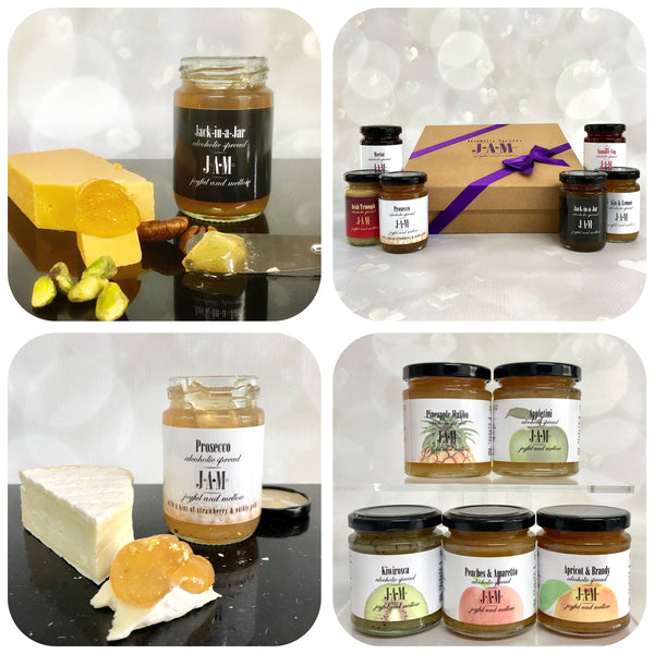 Alcoholic Jams - Prosecco Jam, Gin Jam and more.