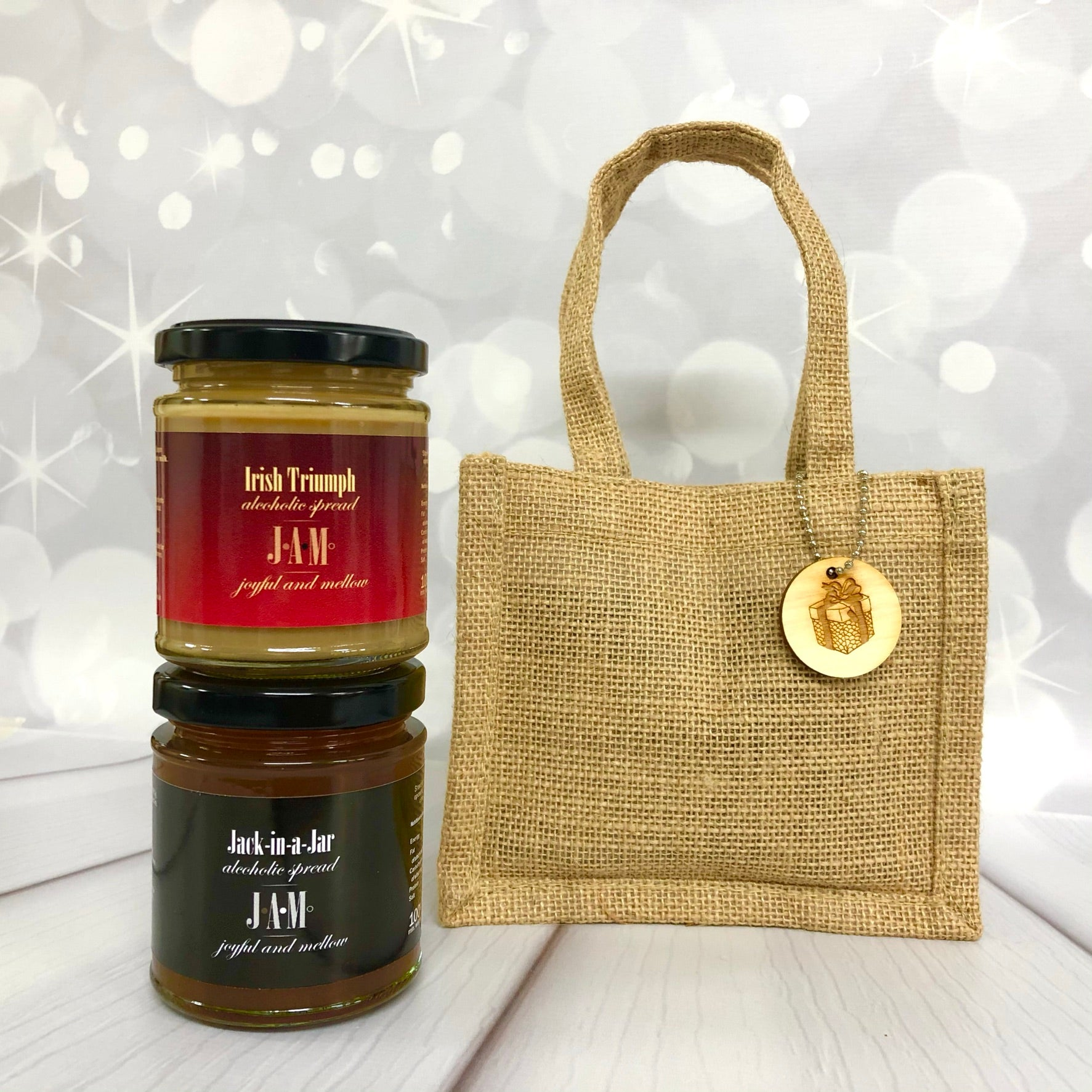 Gift bag of 2 alcoholic spreads