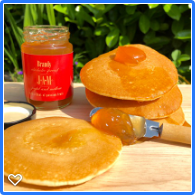 Brandy Jam with pancakes check out alcoholic jams