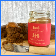 Brandy Jam with Christmas Cake - delicious alcoholic jams