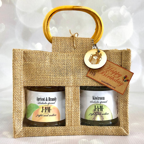 Gift Bag of 2 Alcoholic jams