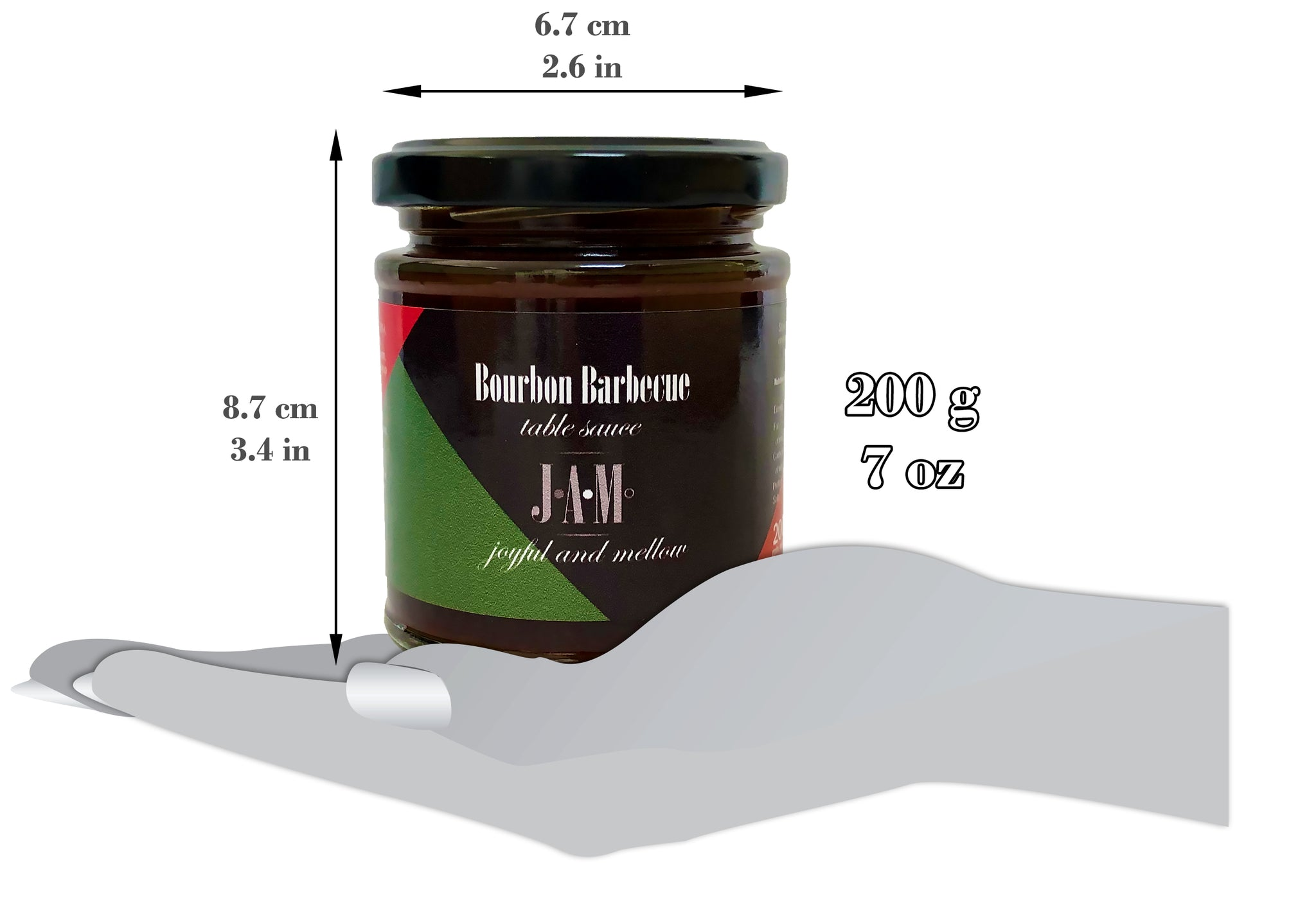 Bourbon Barbecue Table Sauce (200g ~ 7oz)