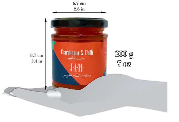 Chardonnay & Chilli Table Sauce (200g ~ 7oz)